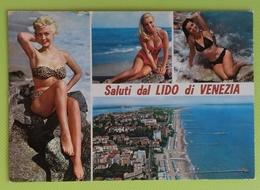 Cartolina VENEZIA - VE - Viaggiata - Postcard - Saluti Dal Lido Di Venezia - Venezia (Venice)