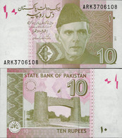Pakistan 2017 - 10 Rupees - Pick 45 UNC - Pakistan