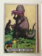 PLATOS VOLADORES AL ATAQUE # 33 ORIGINAL CARD Oesterheld Y Alberto Breccia - SPACE SCI -FI UFO OVNI SOUCOUPE - Confectionery & Biscuits