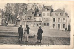 ***  27  ***  SAINT GEORGES DU VIEVRE La Place - TTB  Neuve - Other Municipalities