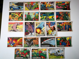 PLATOS VOLADORES AL ATAQUE # 28 ORIGINAL CARD Oesterheld Y Alberto Breccia - SPACE SCI -FI UFO OVNI SOUCOUPE - Confectionery & Biscuits