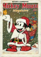 BUVARD :  Walt Disney, Mickey Mouse Magazine, Holiday Number (2 Scans) - Cinéma & Theatre