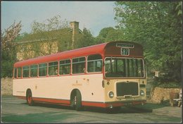 Cheltenham District Traction Co Bristol RELL6L - Transicard Postcard - Buses & Coaches