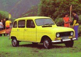 Renault 4TL   -  1960  -  CPM - PKW