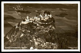 B4192 - Schloss Hochosterwitz Hoch Osterwitz - Sankt Georgen - Fliegeraufnahme Luftbild - RLM - Châteaux