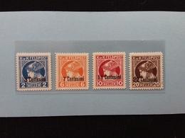 OCCUPAZIONE AUSTRIACA 1918 - Francobolli Per Giornali Nn. 1/4 Nuovi ** + Spese Postali - 8. Occupazione 1a Guerra