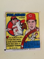 TOPPS BUBBLE GUM WAX WRAPPERS BASEBALL 1979 TOM SEAVER - Confectionery & Biscuits