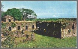 CP  FF-392- Ruins Of  Fort San Lorenzo  Panama . Unused - Castillos