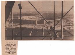 STADION GARMISCH - PARTENKIRCHEN...1936...BEIEREN DUITSLAND OLYMPISCHE SPELEN - Old Paper