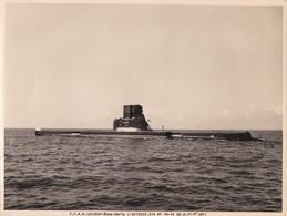 D.C.A.N. LORIENT -  SOUS MARINS - L'ARTEMIS  -  PEU COURANTE PHOTO 18 X 24 CM.. - Sous-marins