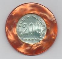 Cercle Républicain Paris : 1 Jeton De 200 Francs (Diamètre 48 Mm) - Casino