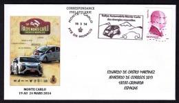 10.- MONACO 2014. RALLYE OF MONTECARLO NEW ENERGIES - Automobile