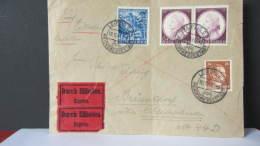 DR 33-45: Express-Fern-Brief Mit 25+15 Pf Kärnten Aus Leipzig Vom 10.12.41  Knr: 809 Ua - Deutschland
