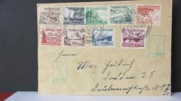 """DR 33-45: Brief Mit Satz WHW 1937 Schiffe SoSt.""""Dresden N6 Gau Sachsen Tag Der Nationalen Solidarität"""" 4.12.37 Knr:651/9 - Deutschland"""