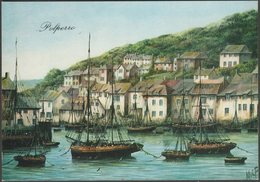 Kevin Platt - Polperro, Cornwall, 1982 - DG Thomas Postcard - England