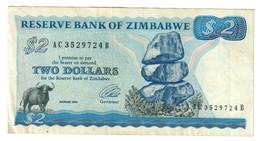 Zimbabwe 2 Dollars 1994 - Zimbabwe