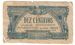 Portugal 10 Centavos 1917 - Portogallo