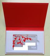 Bank Cards Visa Lady Platinum. Ukraine. Privatbank. 0346 - Geldkarten (Ablauf Min. 10 Jahre)
