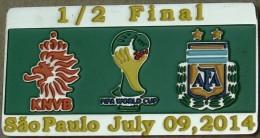 PIN FIFA 2014 NETHERLAND Vs ARGENTINA 1/2 FINAL - Voetbal