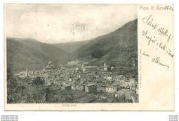 PIEVE DI TECO ( Imperia ) PANORAMA -  Viaggiata  1901 - Italy