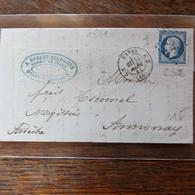 27.05.2018_LAC De Paris C2 CS2 évidé DE 1861 A VOIR§§ Illustré;  !! 4 Photos - Postmark Collection (Covers)
