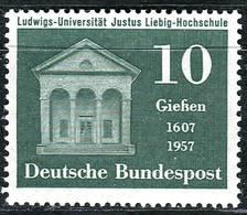 BRD - Mi 258 - ** Postfrisch (B) - 10Pf      350 Jahre Ludwigs-Uni Und J.v.Liebig-Hochschule Gießen - Nuovi