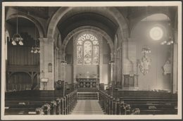 Interior Of Unidentified Church, C.1920s - RP Postcard - Postcards