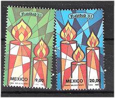 Mexico 1983 Christmas, Mi 1875-1876 MNH(**) - Mexique