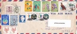REPUBLIC OF KOREA STORIA POSTALE VIAGGIATA AEROGRAMMA  ANNO 1977 - Corea Del Sud