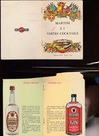 1)SC1 MARTINI E I VOSTRI COCKTAILS RICETTARIO CATALOGO PRODOTTI MARTINI - Advertising