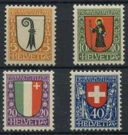 Suisse (1923) N 192 A 195 (Luxe) - Neufs