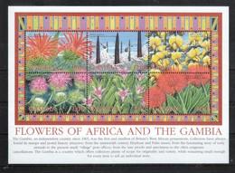 Gambia 2002**, Einheim. Pflanzen, Sukkulente / Gambia 2002, MNH, Native Plants, Succulent - Cactus