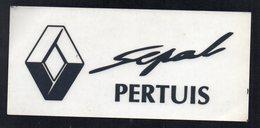 RENAULT PERTUIS -  AUTOCOLLANT   N°2729 - Stickers