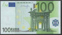 AUSTRIA N 100 EURO  F011 C2  - DRAGHI   UNC - 100 Euro