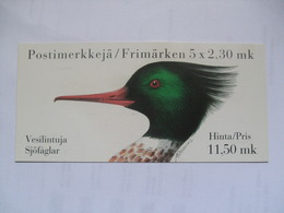 FINLAND - 1993 Booklet - Birds - 11,50 Mk - Finland