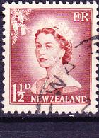 Neuseeland New Zealand - Königin Elisabeth II. (MiNr: 355) 1955 - Gest Used Obl - Used Stamps