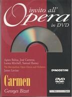 # DVD: Georges Bizet - Carmen - Carreras, Baltsa Ecc. Reg. Live Febbr. 1987 Con Libretto - Concerto E Musica