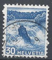 Switzerland 1936. Scott #234 (U) Rhine Falls * - Oblitérés