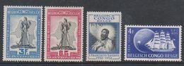 Belgisch Congo 1949 / 1952 4w ** Mnh (38903) - Belgisch-Kongo