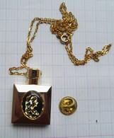 Pendentif Chaine Bijou Fendi Miniature Parfum - Accessories