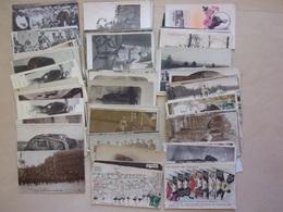 LOT DE 100 CP DE LA GRANDE GUERRE 14-18,  Dont 40 Cartes Photos De Militaires à Identifier Et 15 Cp De Propagande - Guerre 1914-18
