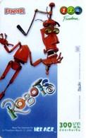Mobilecard Thailand - 12Call - Movie,Film,cinema  - Robots (5) - Thaïland