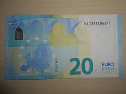 20 Euro NZ N001 Austria Autriche Österreich Draghi I- - EURO