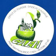 A.C.thème POMME CAEN Office Du Tourisme - Stickers