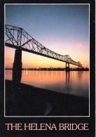 The Helena-Mississippi Bridge, Helena, Arkansas, USA Unused - United States