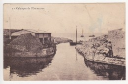 CPA - MARSEILLE - Calanque De L'Escalette - Marseilles