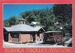 Eureka Trolley Station, Eureka Springs, Arkansas, USA Unused - United States