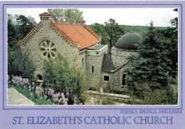 St. Elizabeth's Catholic Church, Eureka Springs, Arkansas, USA Unused - United States