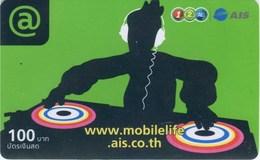 Mobilecard Thailand - 12Call/AIS - Werbung (3) - Musik (1) - Thaïland