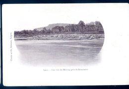 Cpa Du Laos Une Vue Du Mékong Près De Kemmarat   Avril18-26 - Laos